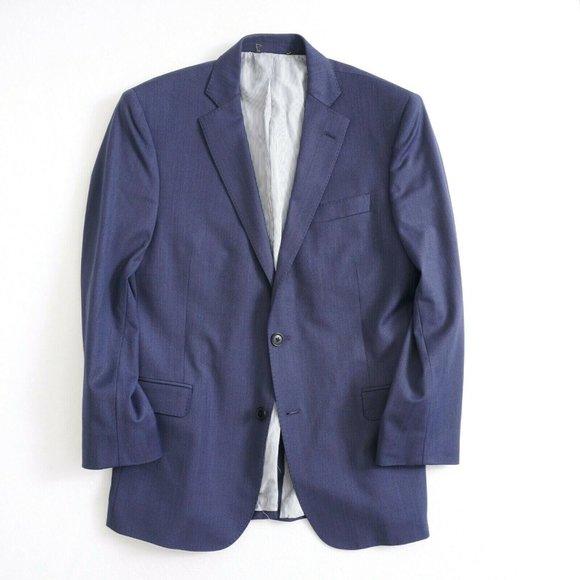 Brooks Brothers Explorer Mens Blazer Jacket Blue T
